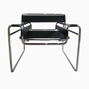 Vintage B3 Wassily Armlehnstuhl von Marcel Breuer für Gavina, 1970er