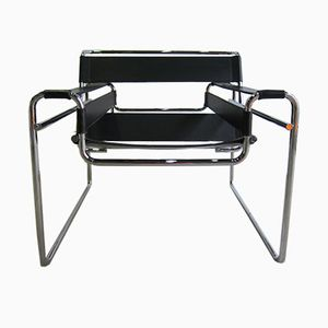 Vintage B3 Wassily Chair by Marcel Breuer for Gavina, 1970s