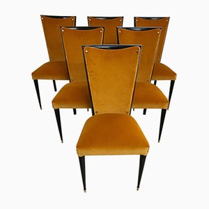 Chairs, 1950s, Set of 6