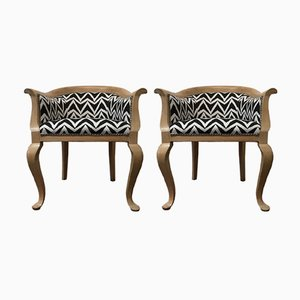 Antique Armchairs, 1800s, Set of 2