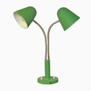 Lámpara de mesa vintage ajustable de 2 brazos