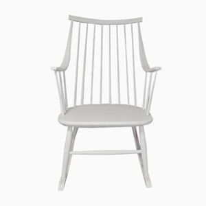 Vintage Swedish Rocking Chair by Lena Larsson for Nesto