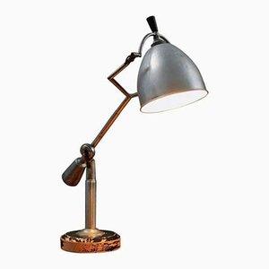 Lampe de Bureau par Edouard Wilfred Buquet pour SGDG Paris, 1927