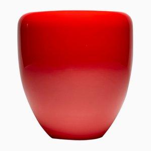 Dot Beistelltisch oder Hocker in Iconic Rot von Reda Amalou