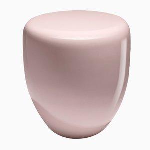 Tavolino o sgabello Dot rosa chiaro di Reda Amalou