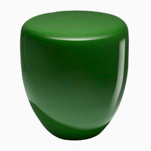 Mesa auxiliar o taburete Dot en verde de Reda Amalou