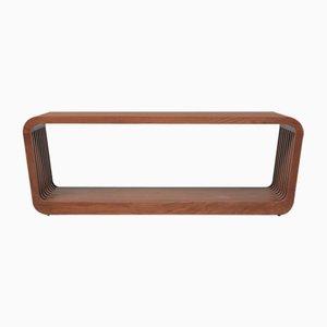 Panca o tavolino da caffè grande Link in legno di noce di Reda Amalou