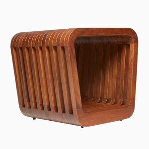 Panca o tavolino da caffè Link in legno di noce di Reda Amalou