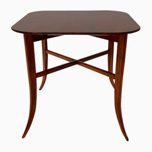 Tavolino da caffè impiallacciato in noce di Josef Frank, anni '30