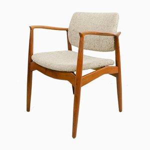 Captains Chair Model 67 by Erik Buch for Ørum Møbler, 1960s