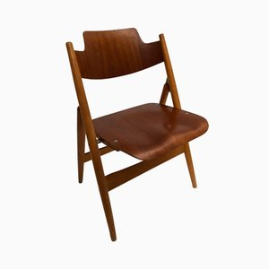 SE18 Folding Chair by Egon Eiermann for Wilde & Spieth, 1950s
