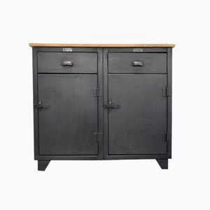 Vintage Industrial Cabinet from Solfa