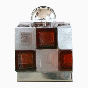 Lampe Cube de Poliarte, Italie, 1960s