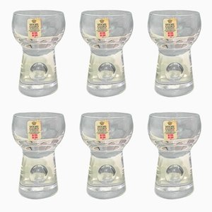 Ballon Mini Glasses from Holmegaard, 1972, Set of 6