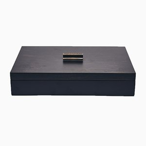 Small Decorative Box in Black and Brown by Reda Amalou