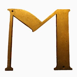 Antiker Spanischer Buchstabe M