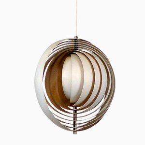 Dänische Mid-Century Moon Lampe von Verner Panton für Louis Poulsen, 1960er