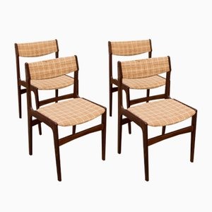 Rosewood Dining Chairs by Erik Buch, 1960s, Set of 4