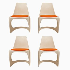 Merveilleux Danish Dining Chairs By Steen Østergaard For Cado, 1970s, Set Of 4