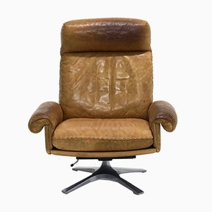 DS31 Highback Swivel Chair from de Sede, 1970s