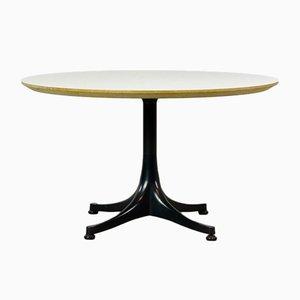Tavolino da caffè rotondo Mid-Century di George Nelson per Herman Miller