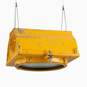 American Traffic Pendant Light from LFE, 1950s