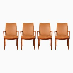 Chairs in Leather and Rio-Rosewood from Casala, 1960s, Set of 4