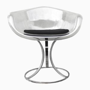 Mid-Century Acrylic & Chrome Chair by Peter Hoyte, 1960s