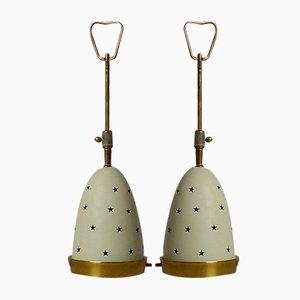 Italienische Mid-Century Stelline Lampen von Angelo Lelli für Arredoluce, 1950er, 2er Set