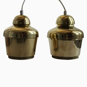 Model A330 Ceiling Lamps by Alvar Aalto, 1950s, Set of 2