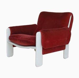 Vintage Sporting Sessel von Ammanati und Vitelli für Rossi di Albizzate