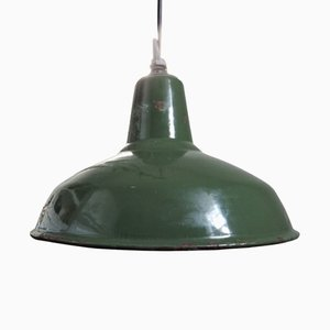 Lampe à Suspension Industrielle, 1950s