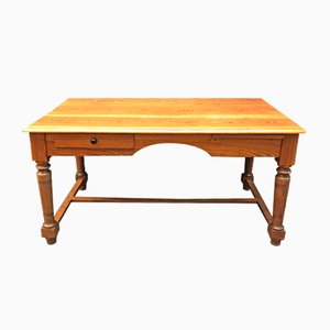 American Pitch Pine Desk, 1950s