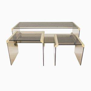 Tavolino da caffè di Pierangelo Galotti per Galotti & Radice, anni '80