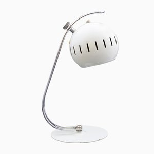 White Eyeball Desk Lamp, 1960s