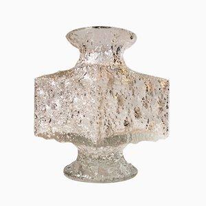 Crassus Glas Vase von Timo Sarpaneva für Iittala, 1960er