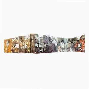 Biombo Pop Art de 20 paneles de Kat Menschik, 2001
