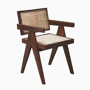Sedia da ufficio Mid-Century di Pierre Jeanneret