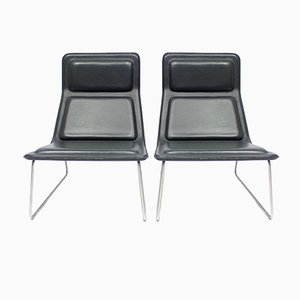 Low Pad Chairs by Jasper Morrisson for Cappellini, 2003, Set of 2