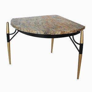 Marmor Tisch von Hermanos Vidal, 1950er