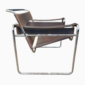 Deutscher Wassily Armlehnstuhl von Marcel Breuer, 1970er