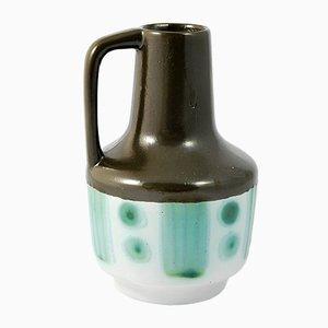 Jarrón 4073 de cerámica con manija de Fohr Keramik, años 60