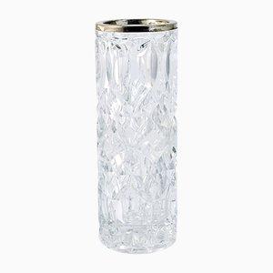Antike Englische Glas Vase von King & Sons Chester