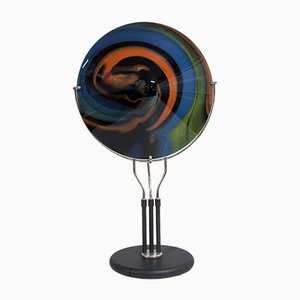 Glass Table Lamp by Missoni for Arte Vetro Murano, 1980s