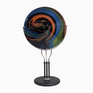 Lampada da tavolo in vetro di Missoni per Arte Vetro Murano, anni '80