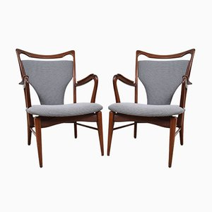 Vintage Easy Chairs, Set of 2