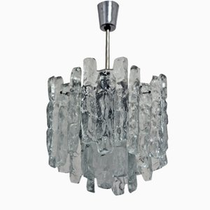 Glass Chandelier by Kalmar, 1960s