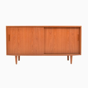 Small Teak Sideboard by Poul Hundevad for Hundevad & Co., 1960s
