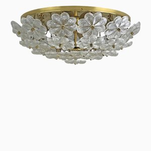 Vintage Flush Mount Ceiling Lamp by Ernst Palme