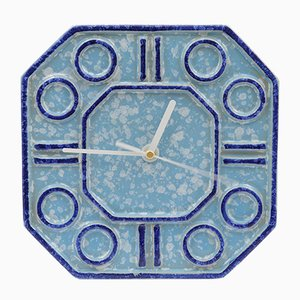 Horloge Murale en Céramique de Keramo Kozlany, 1970s